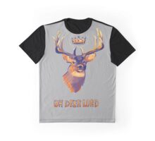 Oh Deer Lord Graphic T-Shirt