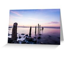 Evening Calm Greeting Card