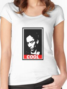 Abed, Cool Women's Fitted Scoop T-Shirt