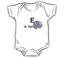 E is for ... One Piece - Short Sleeve