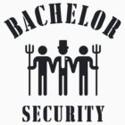 Bachelor Security (Stag Night / Black) by MrFaulbaum