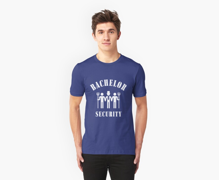 Bachelor Security (Stag Night / White) by MrFaulbaum