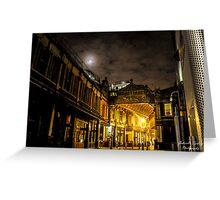 Nightfall in the Capital Greeting Card