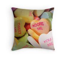Demanding Sweeties Throw Pillow