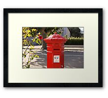 Red Letter Day Framed Print
