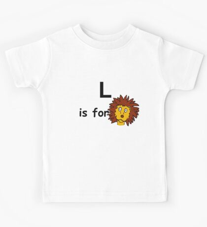 L is for ... Kids Tee