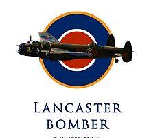 Lancaster bomber logo by AviationPrints