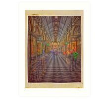 Royal Arcade Melbourne Art Print