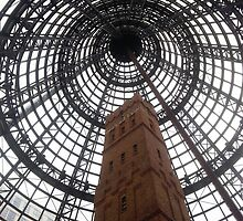 Coop's Shot Tower in Melbourne by Keith G. Hawley