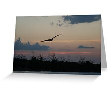 African Sunset #10 Greeting Card