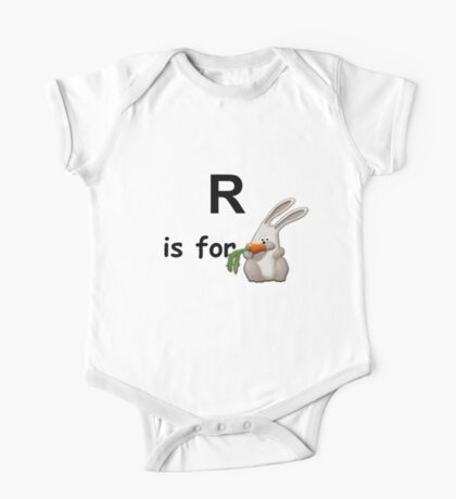 R is for ... One Piece - Short Sleeve