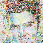 ELVIS PRESLEY WATERCOLOR PORTRAIT by lautir