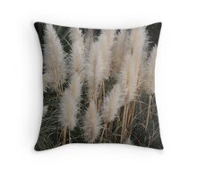 Brush Tails Throw Pillow
