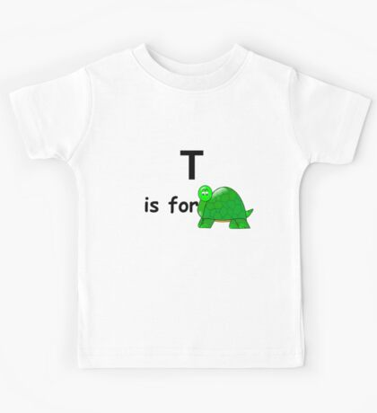T is for ... Kids Tee