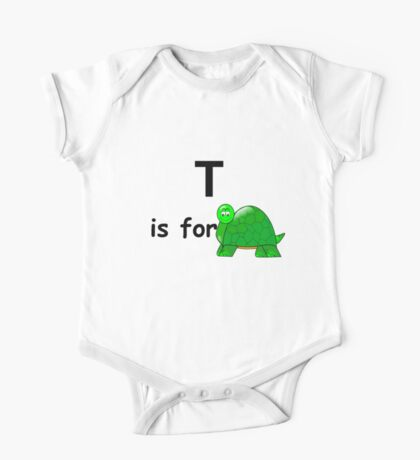 T is for ... One Piece - Short Sleeve