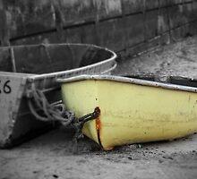 Yellow Boat by mpstone