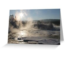 -16c and open water Greeting Card