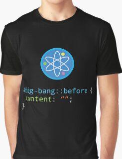 CSS Pun - Big Bang Graphic T-Shirt