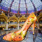 Shoe Galeries Lafayette, Paris by Heather Buckley