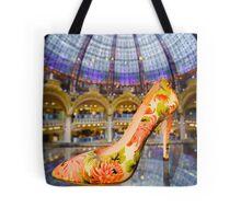 Shoe Galeries Lafayette, Paris Tote Bag