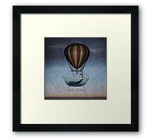 Seek Sanctuary - The Whales Have Left the Building Framed Print