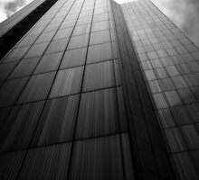 City Tower Black & White. by Nick Griffin