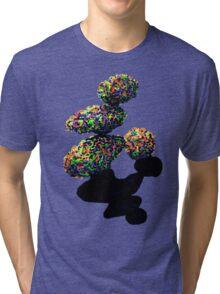 Colorful Balancing Boulders Tri-blend T-Shirt