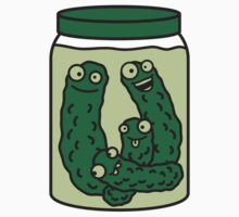 Funny Cucumber Preserving Jar by Style-O-Mat