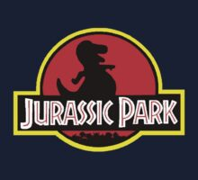 Barney X Jurassic Park One Piece - Long Sleeve