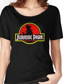 Barney X Jurassic Park Women's Relaxed Fit T-Shirt