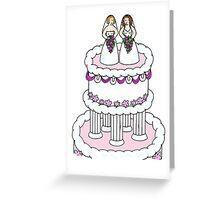 Lesbian civil union  card. Greeting Card