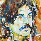CAPTAIN BEEFHEART WATERCOLOR PORTRAIT.2 by lautir