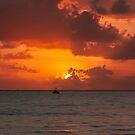 Pre-eclipse Sunrise - Port Douglas by Richard Heath