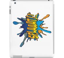 Splaaat! iPad Case/Skin