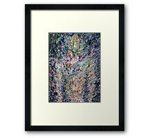 PSYCHEDELIC STANDING BODY FIGURE Framed Print