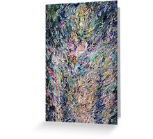 PSYCHEDELIC STANDING BODY FIGURE Greeting Card