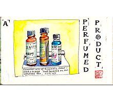 EDiM #6 a perfumed product Photographic Print