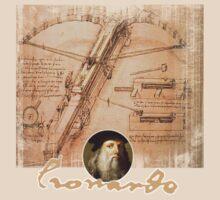 leonardo inventor  by redboy