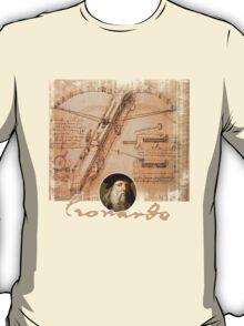 leonardo inventor  T-Shirt