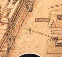 leonardo inventor  Sticker