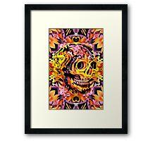 Skull V Framed Print