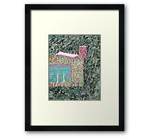 AN INTERREGNUM IN REALITY Framed Print
