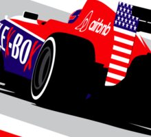 Alexander Rossi 2015 Manor F1 Star Spangled Banner Sticker