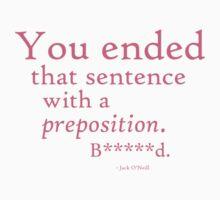 Preposition Pink (clean) by CaelisMiran