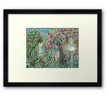 THE TWO and THE NATURE Framed Print