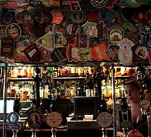 The Harp - Bar & Beer Mats by rsangsterkelly