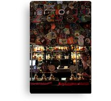 The Harp - Bar & Beer Mats Canvas Print