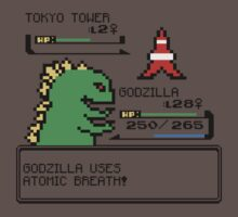 Godzilla I Choose You!! Kids Clothes