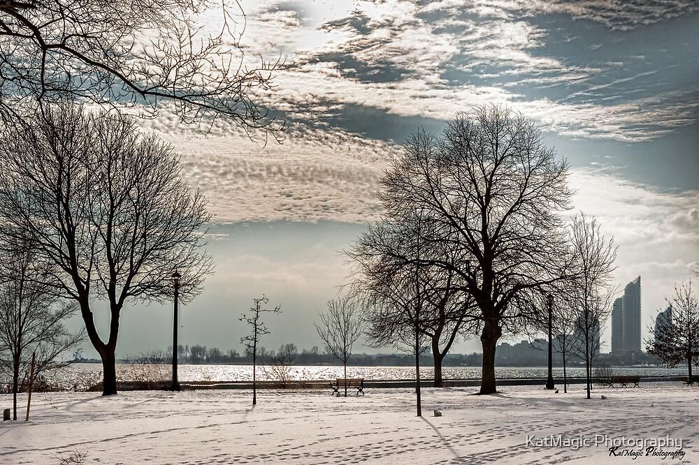 A Winter's Shore by KatMagic Photography