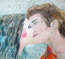 TWO LOVERS KISSING by lautir